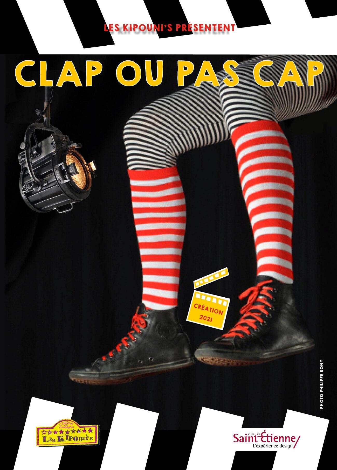 Affiche CLAP ou pas CAP