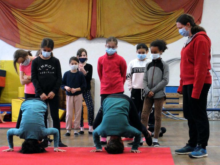 Ecole de Cirque cours enfants